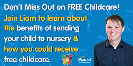 Nursery Benefits & Government Funding - Don't Miss Out on FREE Childcare! tickets
