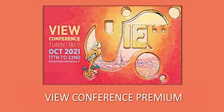 VIEW Conference 2021 Premium Ticket biglietti