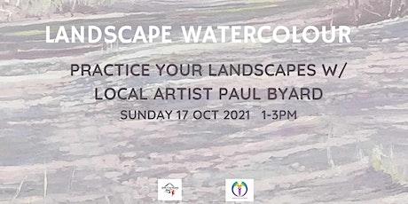 Landscape Watercolour Painting Workshop tickets