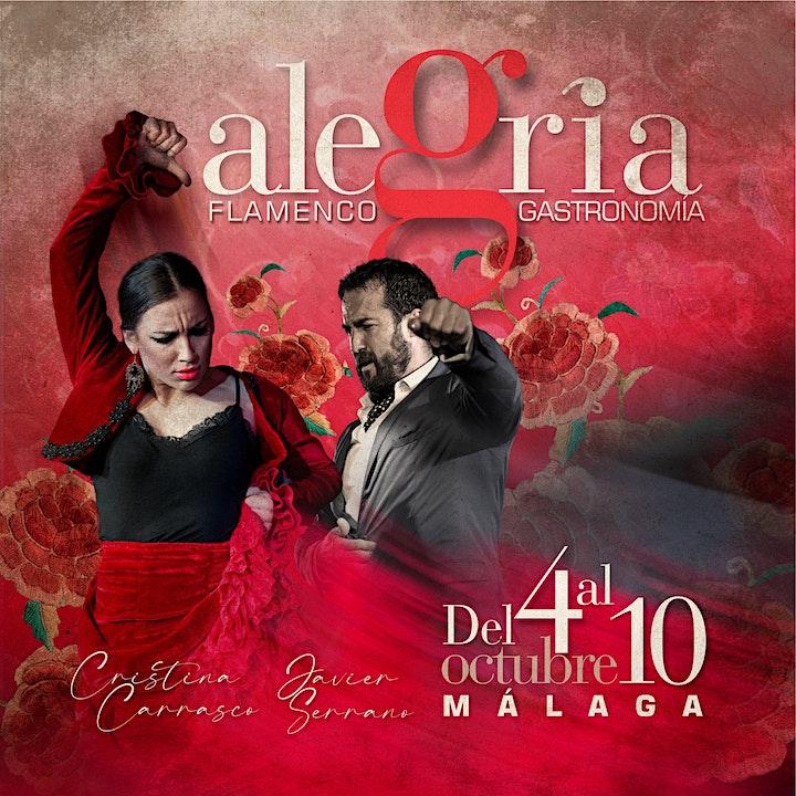Imagen de Flamenco en directo | 2 pases diario 20h00 y 22h30 | Tablao Alegria Málaga
