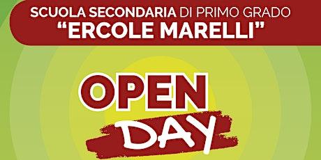 """Open Day 2021: Scuola Secondaria di Primo Grado """"Ercole Marelli"""" biglietti"""