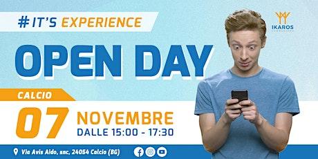OPEN DAY  FONDAZIONE IKAROS CALCIO - 7 NOVEMBRE entradas
