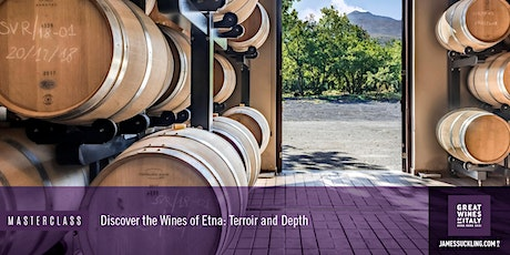 Great Wines of Italy Masterclass: Discover the Wines of Sicily and Etna tickets