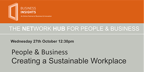 People & Business – Creating  a Sustainable Workplace tickets