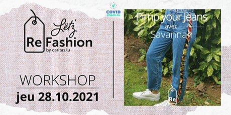 Upcycling: pimp your jeans! tickets