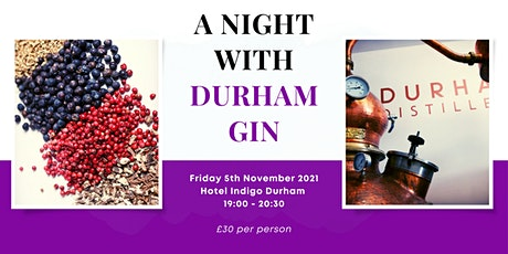 A Night with Durham Gin tickets
