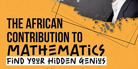 The African contribution to Mathematics tickets