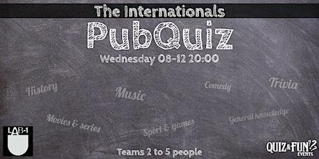 The internationals PubQuiz | Eindhoven tickets