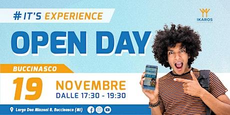 OPEN DAY - FONDAZIONE IKAROS BUCCINASCO - 19 Novembre 2021 biglietti
