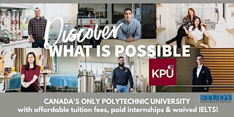 Post-Fair FREE Webinar: Kwantlen Polytechnic University tickets