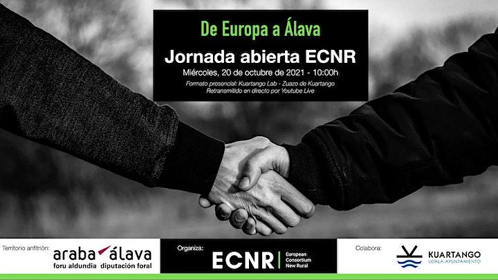 "Imagen de Jornada Abierta ECNR - ""De Europa a Álava"""