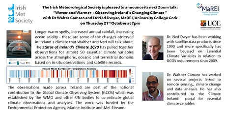 Warmer and Wetter - Observing Ireland's Changing Climate tickets