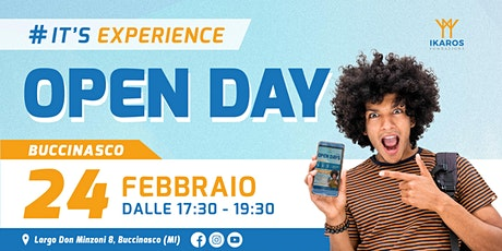 OPEN DAY - FONDAZIONE IKAROS BUCCINASCO - 24 Febbraio 2022 biglietti