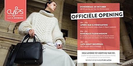 Officieel Openingsfeest van Clips Sint-Martens-Latem billets