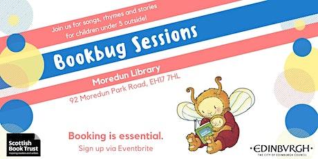 Bookbug Session - Moredun Library (Thur 10am) tickets