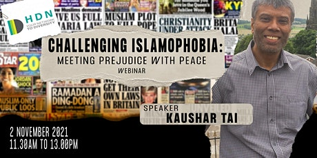 Challenging Islamophobia: Meeting Prejudice with Peace tickets