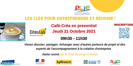 Café Créa - Citéslab/PLIE billets