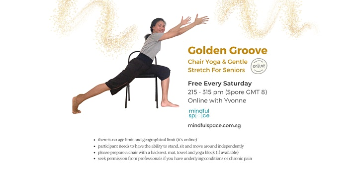 Golden Groove - Free Chair Yoga & Gentle Stretch for Seniors image