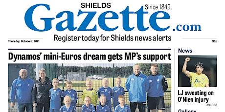 Shields Gazette First Class Supplement tickets
