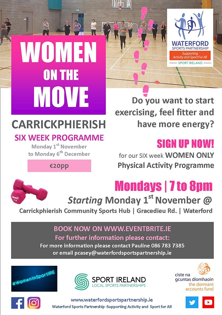 Women on the Move 1st November 2021 image