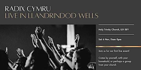 Radix Cymru - Live in Llandrindod Wells tickets