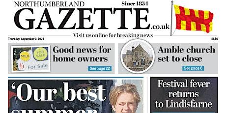Northumberland Gazette First Class Supplement tickets