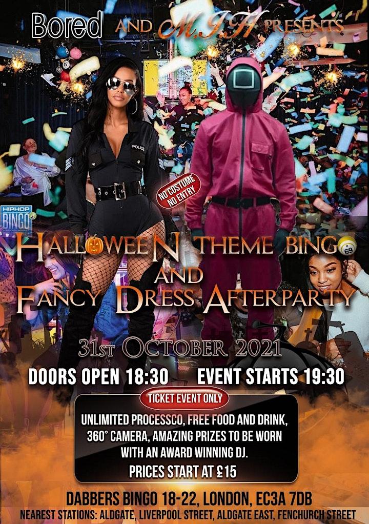 Halloween Costume bingo and Party image