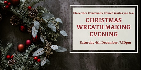 Christmas Wreath Making Evening tickets