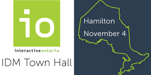 Interactive Digital Media Town Hall: Hamilton