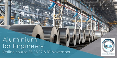 Aluminium for Engineers online course tickets