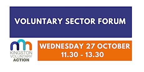 Voluntary Sector Forum meeting tickets