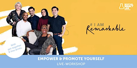 Live-Workshop: Empower & promote yourself Tickets