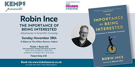 Robin Ince - 100 Bookshop Tour and Talk tickets