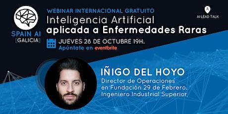 Webinar (Lead Talk): Inteligencia Artificial aplicada a Enfermedades Raras entradas