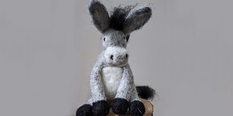 Donkey: Needle Felting Workshop for Improvers Morning Session tickets