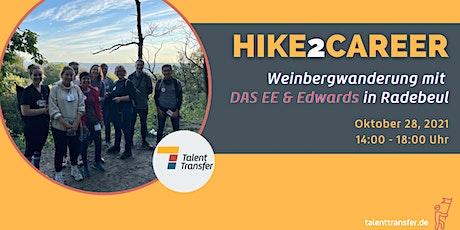 Hike2Career - Weinbergwanderung Radebeul mit Edwards GmbH und DAS EE Tickets