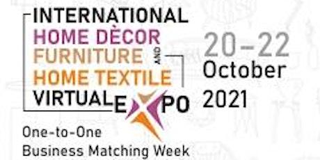 International Home Décor, Furniture & Home Textile Virtual Expo tickets
