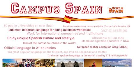 Post-Fair FREE Webinar: Campus Spain entradas