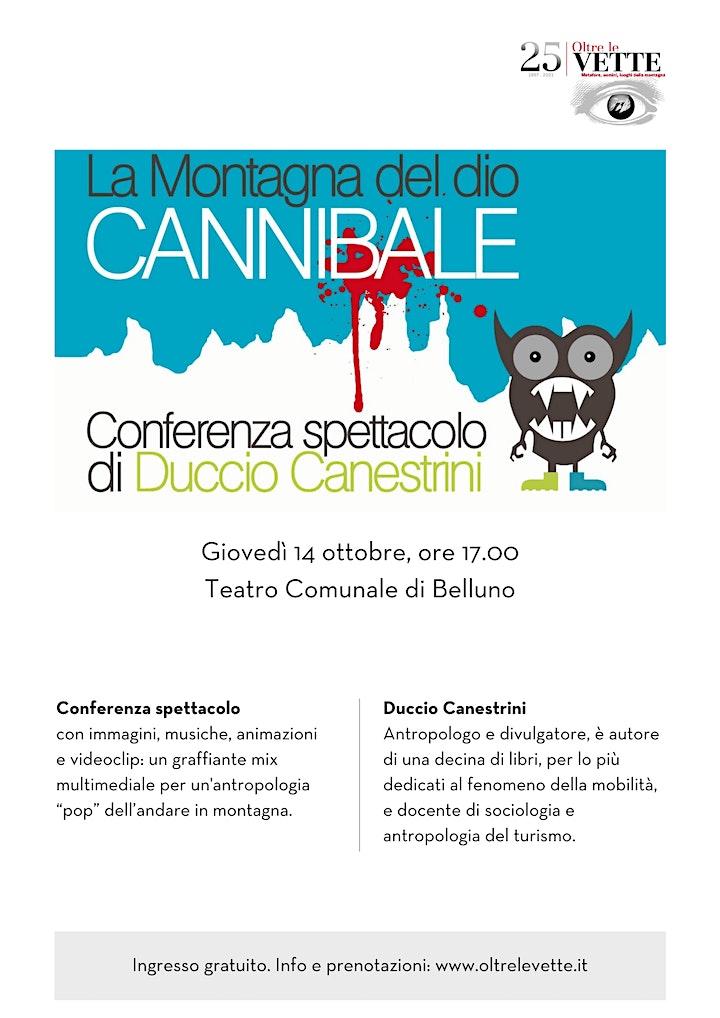 Immagine OLV - Conferenza spettacolo con l'antropologo Duccio Canestrini