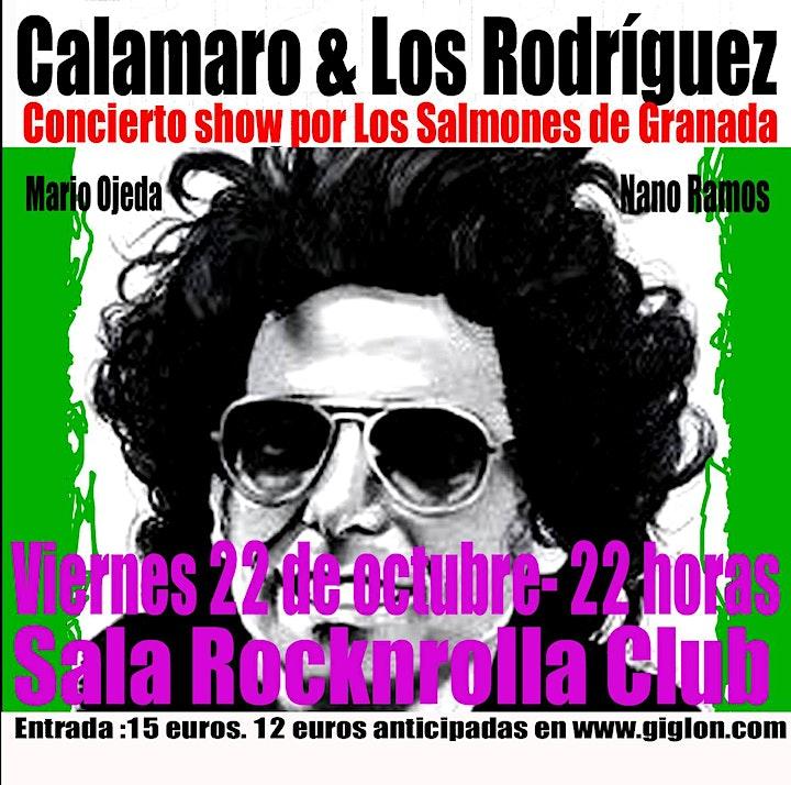 Imagen de Los Salmones regresan a la Rocknrolla Club de Granada!