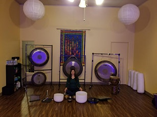 Breathe+Gong+Bowl Meditation- Sacred Sound Journey for Stress Relief! tickets