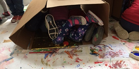 Early Years Art Sessions - Cardboard Playground tickets