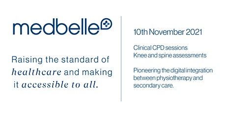 Medbelle | Networking  and CPD event for Physios, GPs and Surgeons tickets