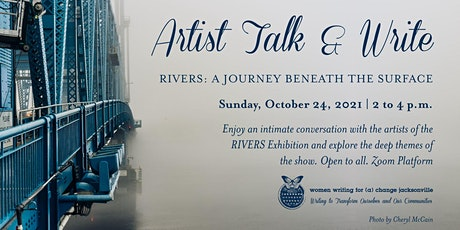 Artist Talk and Write: RIVERS Exhibition tickets