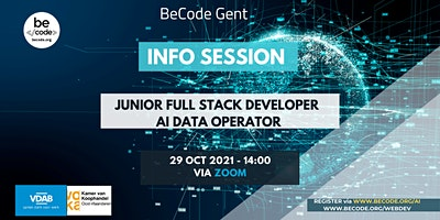 BeCode Gent – Info Session