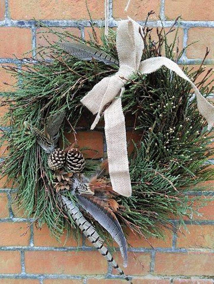 Christmas Wreath Making Workshop at Somerleyton Hall and Gardens image