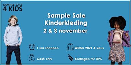 Kinderkleding Sample Sale wintercollectie | 2 & 3 november tickets