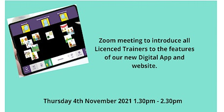 Licenced Trainer introduction to new online resources tickets