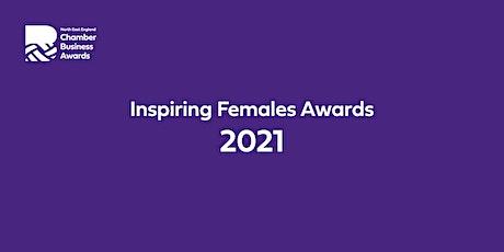 Chamber Inspiring Females Awards 2021 tickets