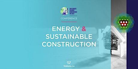 Belgium-Wallonia @ COP26 : Energy & Sustainable Construction tickets